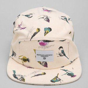 Men's Natural Profound Aesthetic Birds 5panel Hat